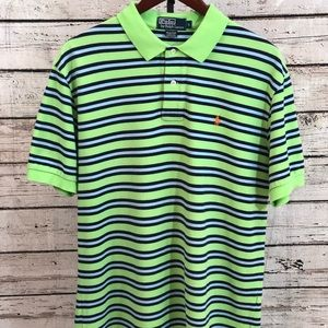 Men's Polo Ralph Lauren Striped Polo Shirt